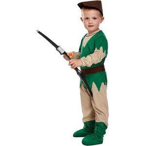 Childs Robin Hood Fancy Dress Toddler Age 3 Years