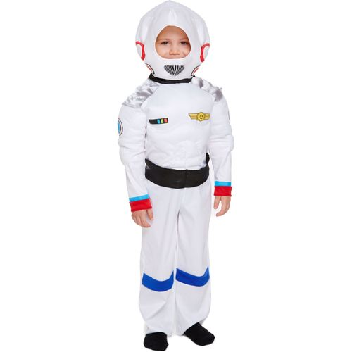 Childs Space Boy Fancy Dress Costume Toddler Age 3 Years