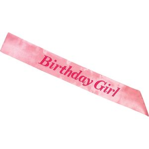Birthday Girl Sash (Pink)