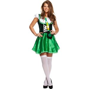 Sexy Irish Lady St Patricks Day Costume Size 12-14
