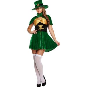 Sexy Irish Leprechaun Lady Mad Hatter Size 12-14