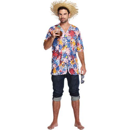 Hawaiian Shirt Fancy Dress Costume One Size Fits Most