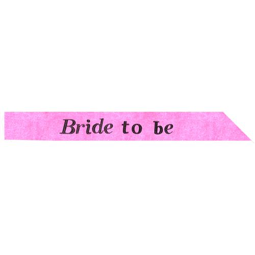 Hot Pink Bride To Be Sash Hen Party Accessory