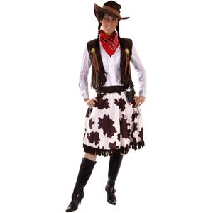 Cowgirl Costume Size 12-14