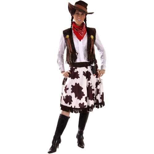 Cowgirl Plus Size Fancy Dress Costume Size 12-14