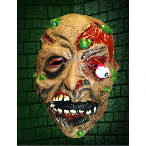Drop Eye Zombie Halloween Horror Fancy Dress Mask