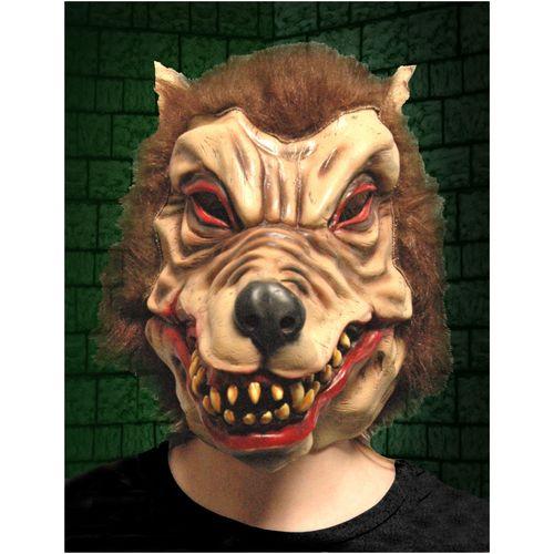 Wolfman Latex Mask Halloween Fancy Dress Acceessory