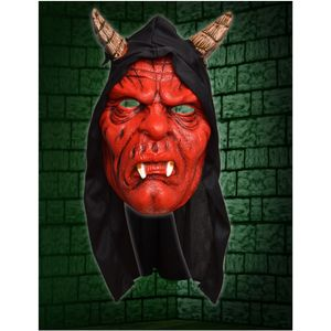 Devil Hooded Face Mask