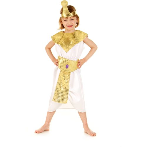 Childs Egyptian Cleopatra Fancy Dress Costume Age 5-7 Years