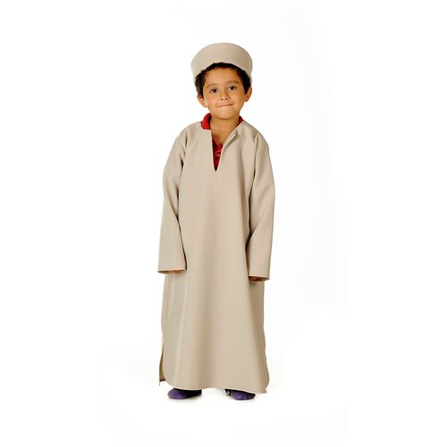 Childs Indian Kurta Long Tunic Fancy Dress Costume  Age 3-5 Years