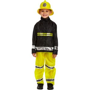 Childs Fireman Costume Age 7-9 Years