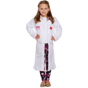 Childs Doctor Girl Costume Age 4-6 Years