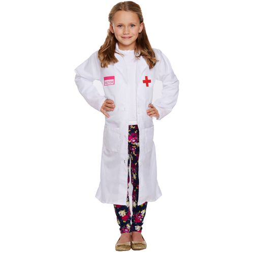Childs Doctor Girl Fancy Dress Costume Age 4-6 Years