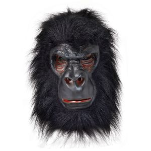 Gorilla King Kong Latex Mask & Hair