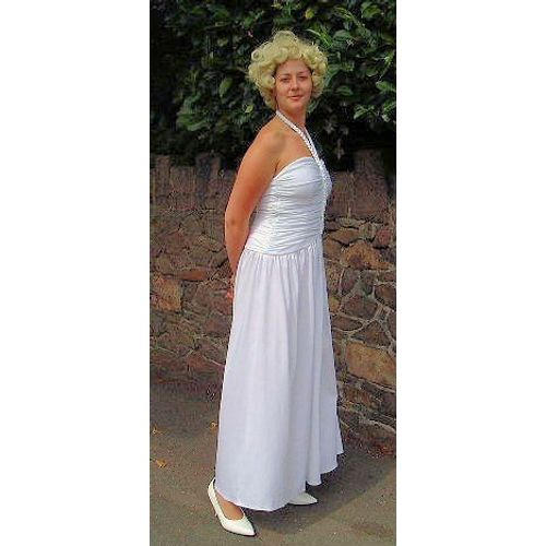 Marilyn Monroe Dress Ex Hire Fancy Dress Sale Costume Size 10-12