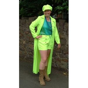 70s Hot Pants Suit Ex Hire Sale Costume Size 12-14