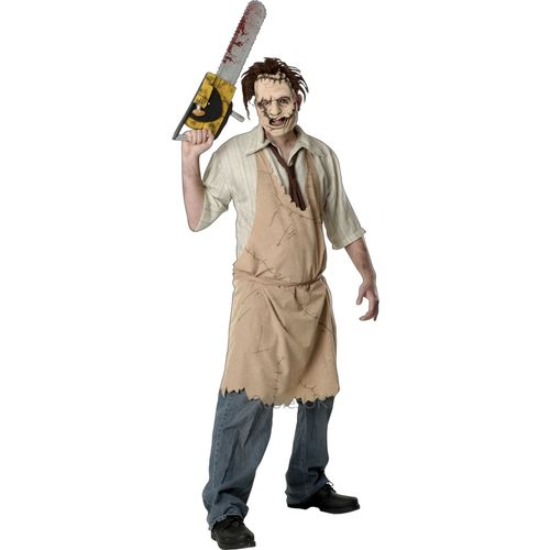 Leatherface Texas Chainsaw Massacre Halloween Fancy Dress Costume Size M-L