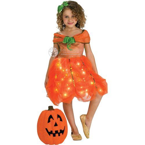 Childs Twinkle Pumpkin Princess Halloween Fancy Dress Costume Age 5 - 7 Years