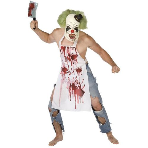 The Butcher Clown Halloween Fancy Dress Costume