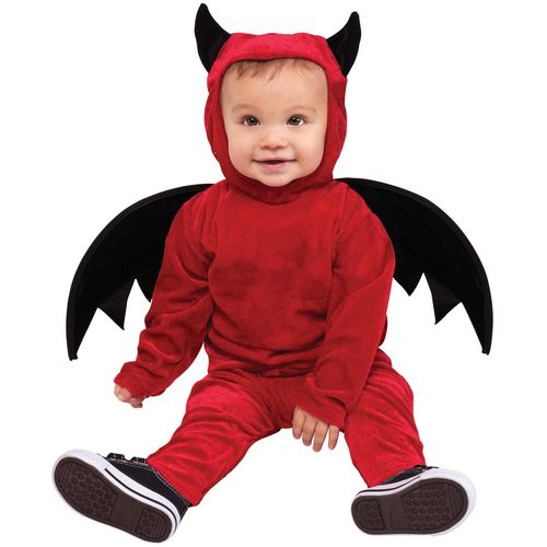Childs Little Devil Halloween Fancy Dress  Costume Toddler Age 12-24 Months