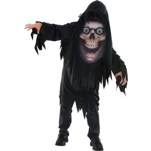 Childs Reaper Mad Creeper Halloween Fancy Dress Costume Age 7-9 Years