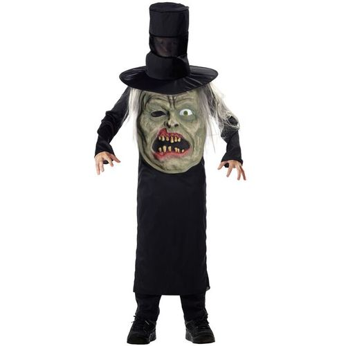 Childs Zombie Mad Hatter Halloween Fancy Dress Costume Age 7-9 Years