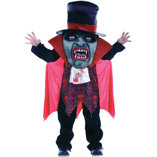 Childs Vampire Mad Hatter Halloween Fancy Dress Costume Age 10-12 Years