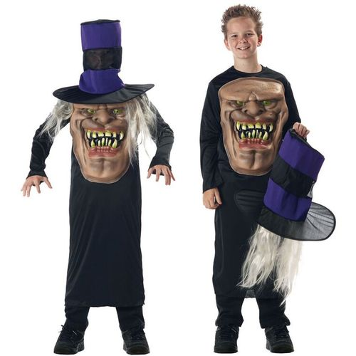 Childs Mr Hyde Mad Hatter Halloween Fancy Dress Costume Age 10-12 Years