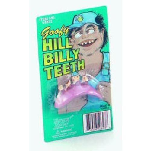 Goofy Hill Billy Teeth Fancy Dress Accesory
