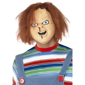 Official Chucky Over Head Latex Mask
