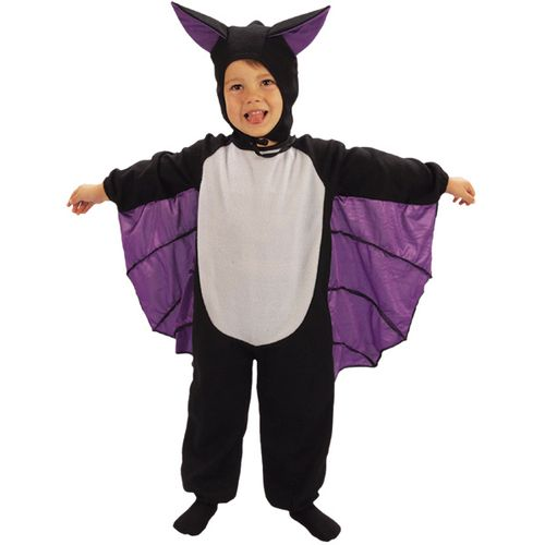Childs Bat Halloween Fancy Dress Costume Toddler Age 3 Years