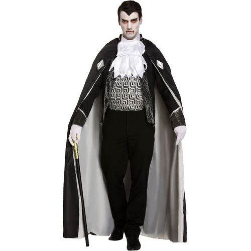Vapmire Lord Halloween Fancy Dress Costume Size M-L