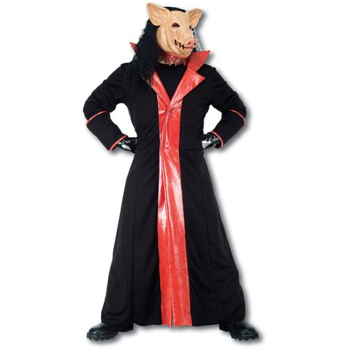 Saw Pig Ex Hire Sale Halloween Fancy Dress Costume Size M