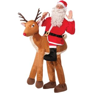 Deluxe Santa Ride On Reindeer Costume