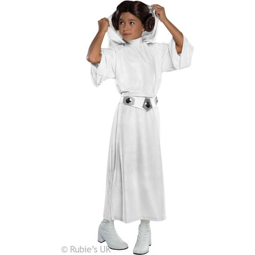 Childs Princess Leia Costume - Large Official Star Wars Costumes