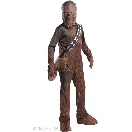 Childs Chewbacca Star Wars Official Licensed Fancy Dress Costume Age 5-7 Years