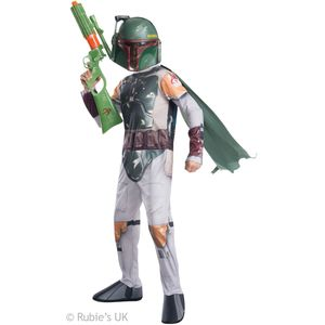 Childs Boba Fett Star Wars Costume Size 3-4 Years