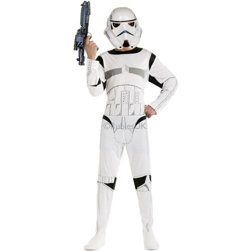 Storm Trooper Star Wars Official Licensed Fancy Dress Costume Size XL