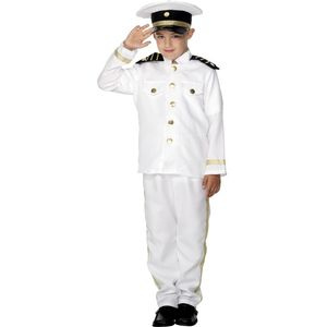 Childs Captain Costume Age 10-12 Years