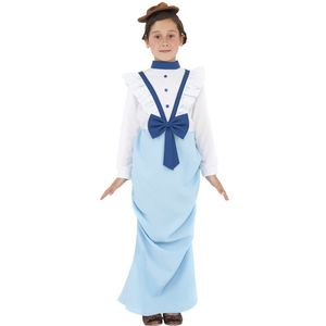Childs Posh Victorian Girl Costume Age 7-9 Years