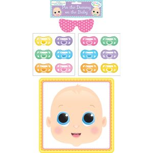 Stick The Dummy On The Baby - Baby Shower Game