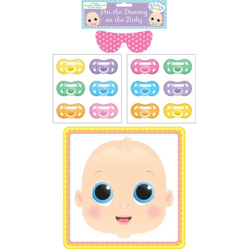 Stick The Dummy On The Baby - Baby Shower Game Party Accessory