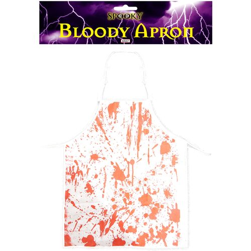 Bloodied Apron Halloween Fancy Dress Accessory