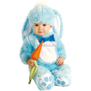 Babies Rabbit Onesie (Blue) Age 12-18 Months