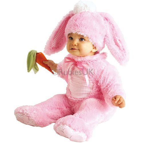 Babies Rabbit Pink Onesie Fancy Dess Costume Age 12-18 Months