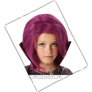 Childs Disney Descendants Mal Wig