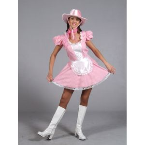 Cowgirl Costume (Sexy Pink) Size 8 - 10
