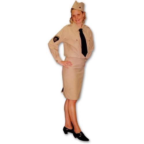 Andrews Sisters Style Ex Hire Fancy Dress Costume Size 16-18