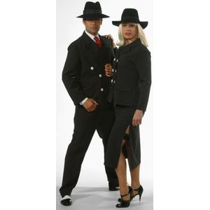 Ladies Gangster Suit Ex Hire Sale Costume Size 12-14