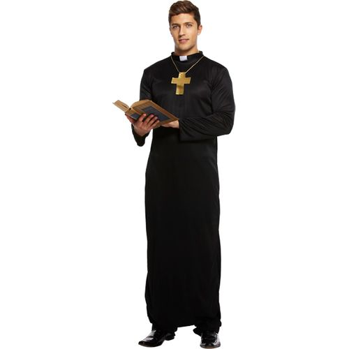 Vicar  Fancy Dress Haloween Costume Size M-L